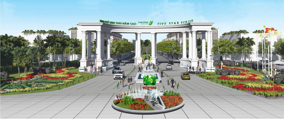 KHU ĐÔ THỊ FIVE STAR ECO CITY - BẢNG GIÁ